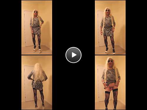 blonde tranny whore pics video